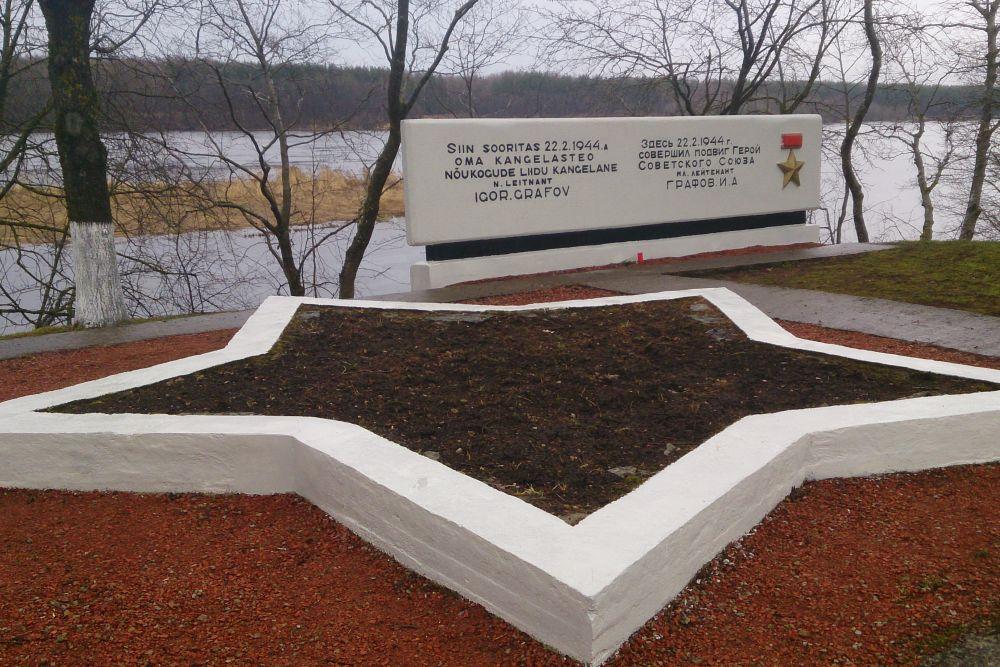 Monument Held van de Sovjet-Unie Igor Grafov