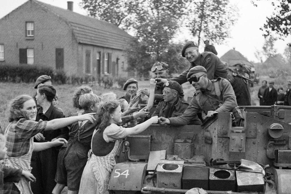 Terug in de tijd: 8th Rifles in Heeze