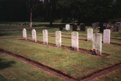 Commonwealth War Graves Brandwood End Cemetery