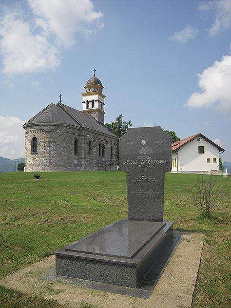 Grave of Uroš Drenović