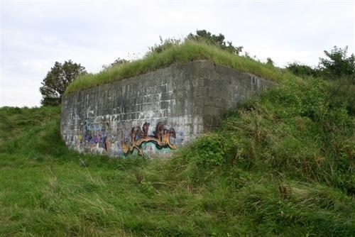 Stützpunkt Rebhuhn Vlissingen / Munitionsunterstand-Formstein type 134