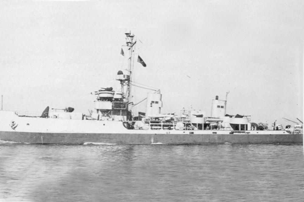Scheepswrak U.S.S. Swerve (AM-121)