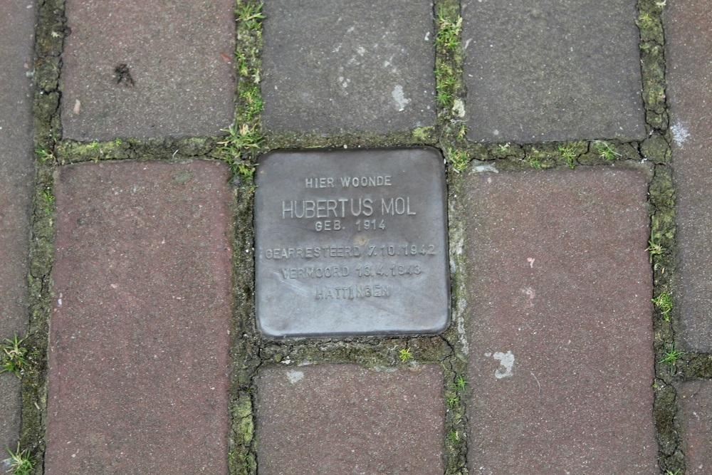 Stumbling Stone Molenstraat 44