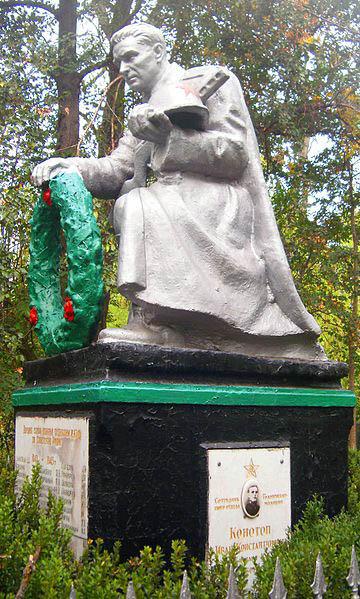 Mass Grave Soviet Soldiers Hola Prystan