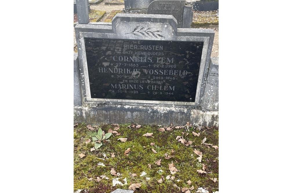 Grave War Victim Ebeltjeshof Overdinkel