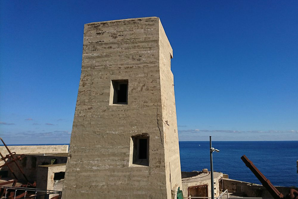 British Fire Control Towers Fort St Elmo