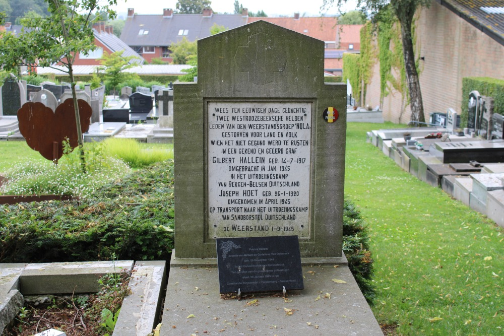 Monument of the Resistance Westrozebeke