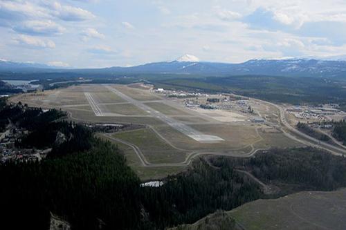 Erik Nielsen Whitehorse International Airport