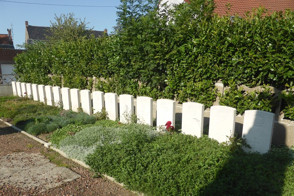 Commonwealth War Graves Oost-Cappel