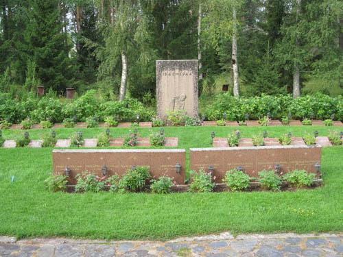Finse Oorlogsgraven Lumijoki