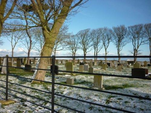 Commonwealth War Graves Easington Cemetery
