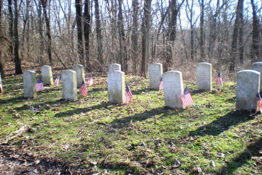 Amerikaanse Oorlogsbegraafplaats Slag van de Mississinewa