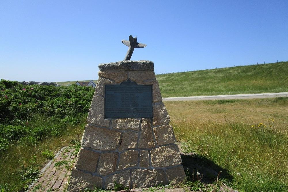 Memorial  Crash Vickers Wellington KX-B