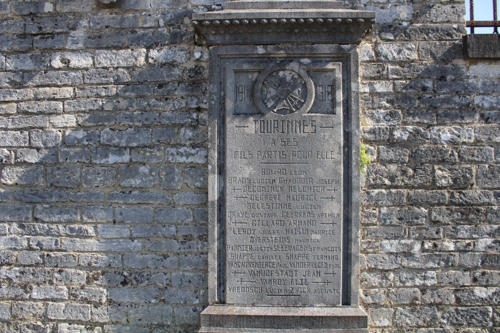 Monument Eerste Wereldoorlog Tourinnes-la-Grosse