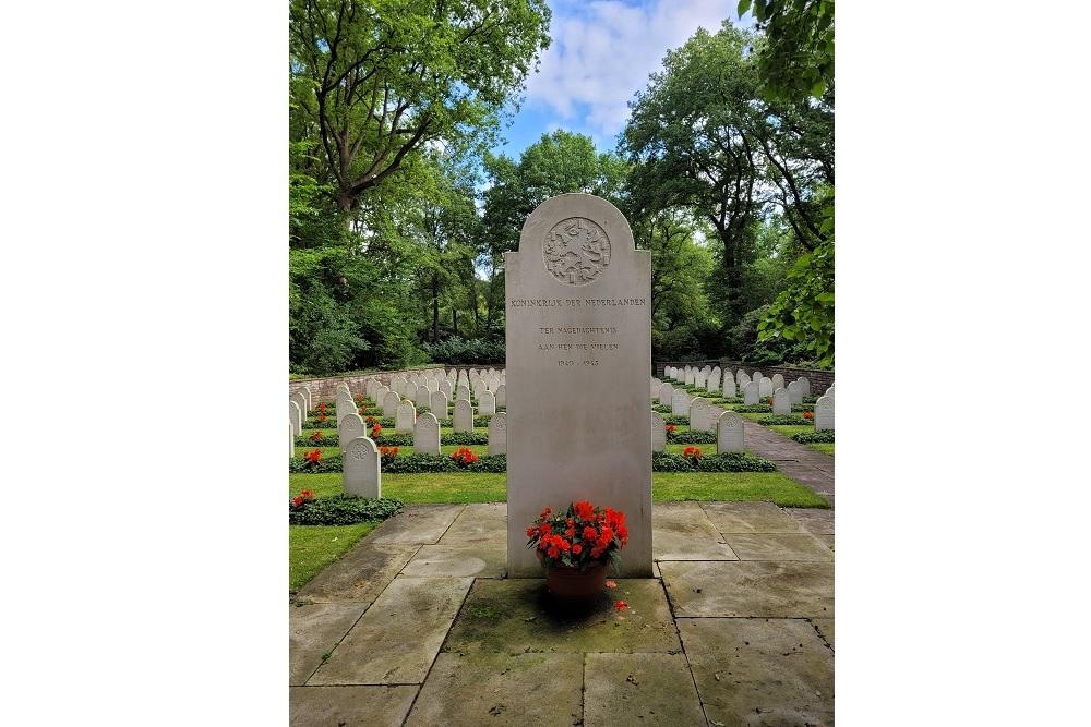Dutch Memorial Osterholzer Friedhof Bremen