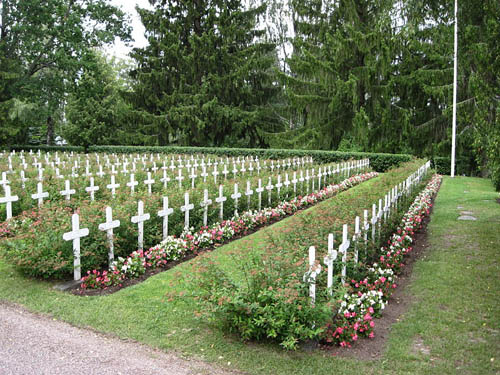 Finnish War Graves Somero