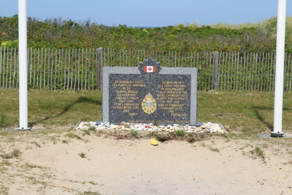 Monument Canadese Marine Courseulles-sur-Mer