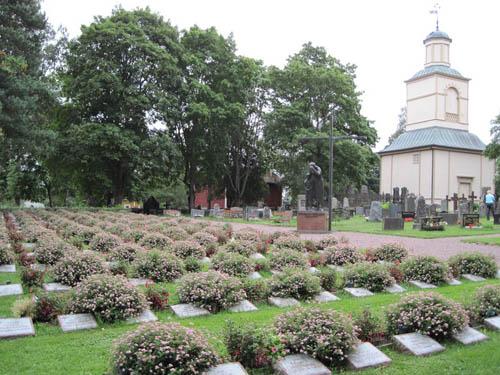Finse Oorlogsgraven Merikarvia