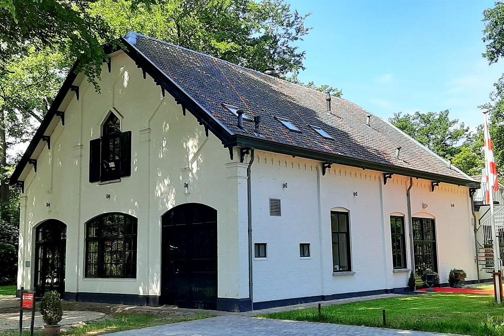 Plaquette Koetshuis Landgoed Anneville