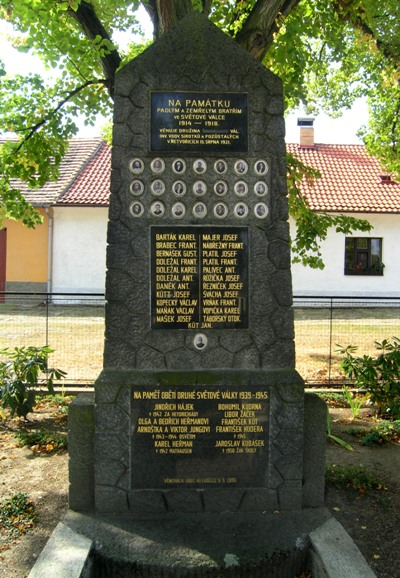 War Memorial Netvořice