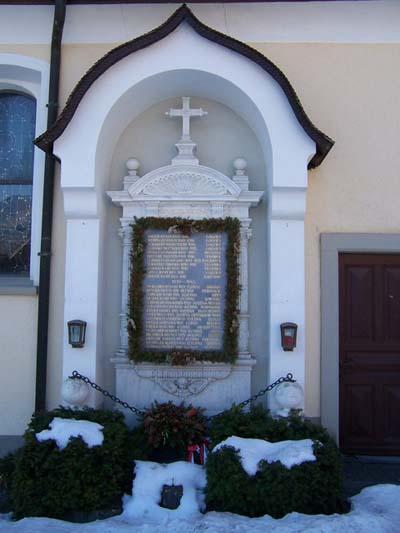 War Memorial Bürserberg