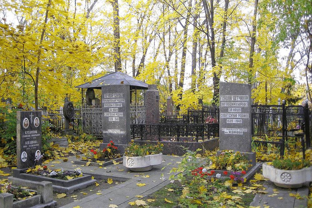 Mass Grave Soviet Soldiers 1939-1940
