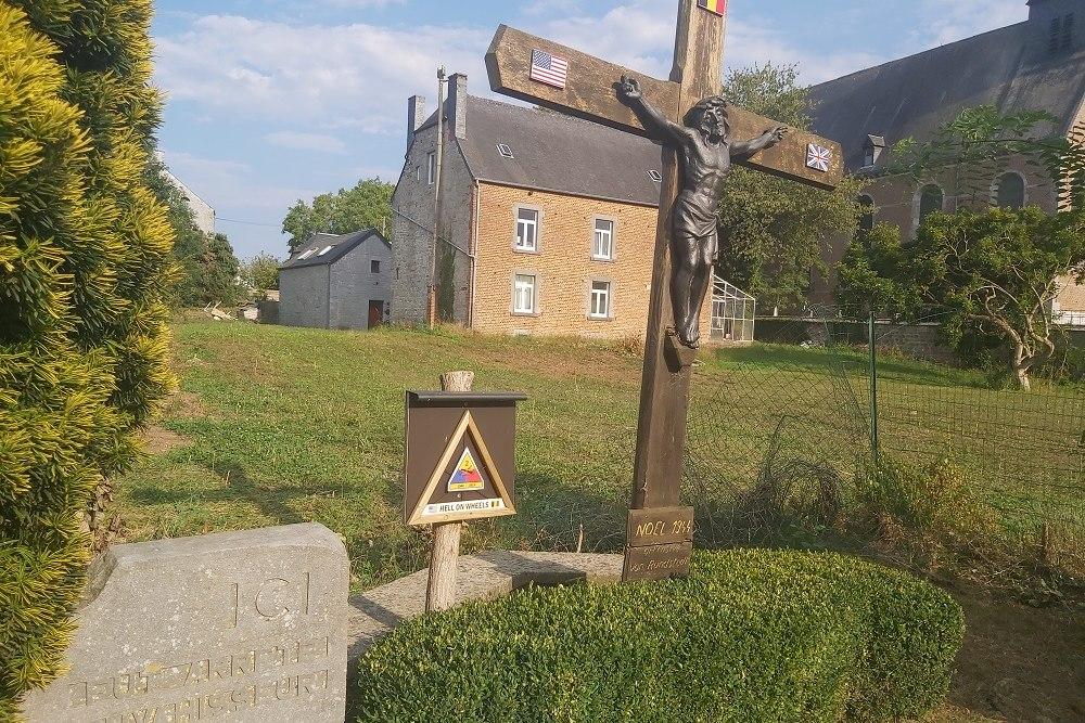 Battlefield Marker Foy-Notre-Dame
