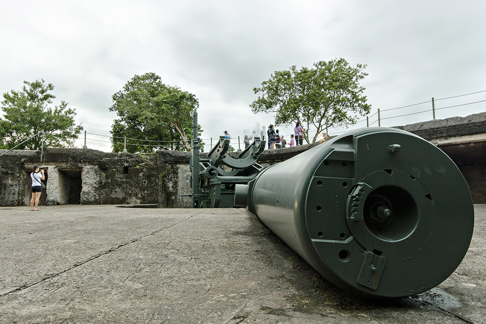 Corregidor - Battery Grubbs