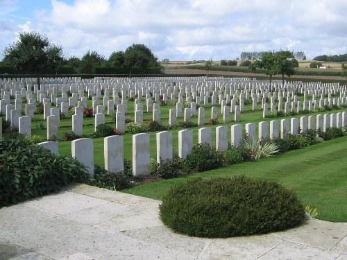 Oorlogsgraven van het Gemenebest Warloy-Baillon