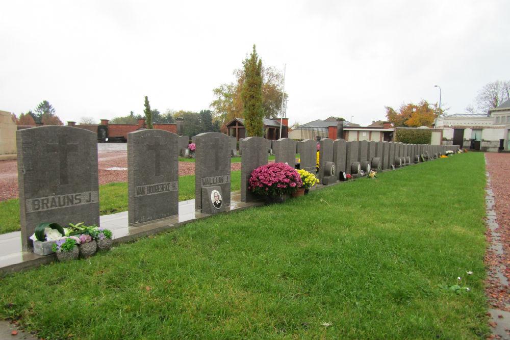 Graven Oorlogsveteranen Halle