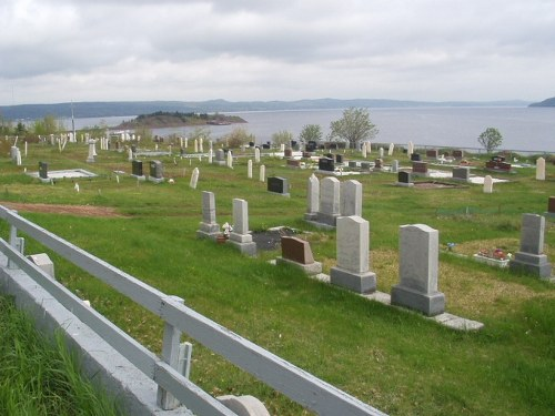 Commonwealth War Graves Botwood United Church Cemetery