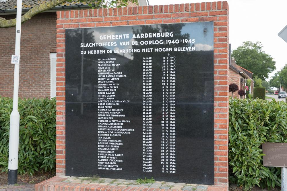 Monument Burgerslachtoffers Aardenburg