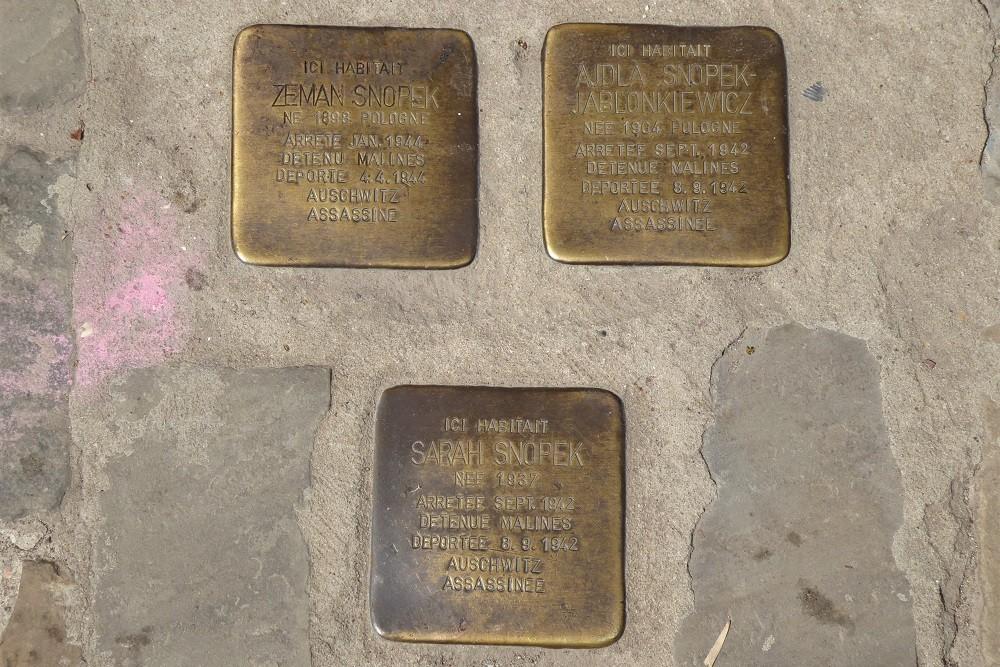 Stumbling Stones Rue des Tanneurs 141
