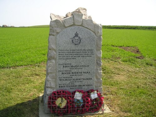 Monument Crash Lockheed Hudson