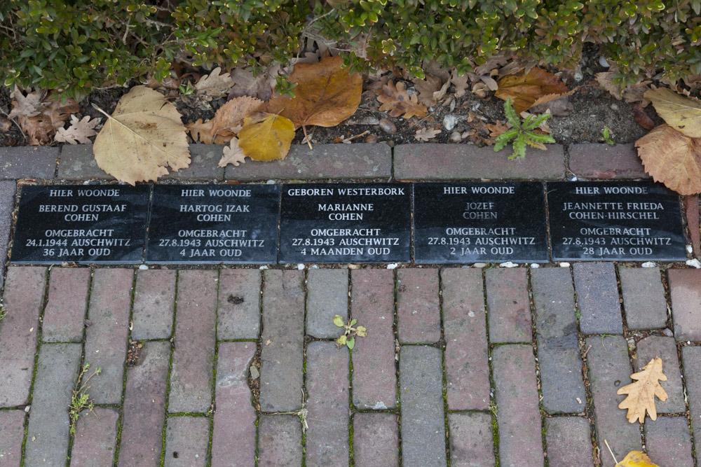 Herdenkingsstenen Deventerstraat 129