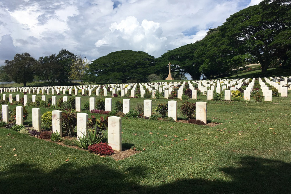 Commonwealth War Cemetery Port Moresby