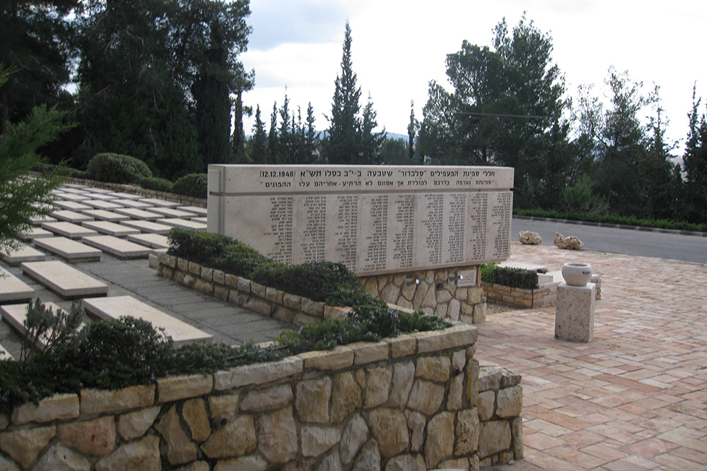 Mass Grave Jewish Refugees