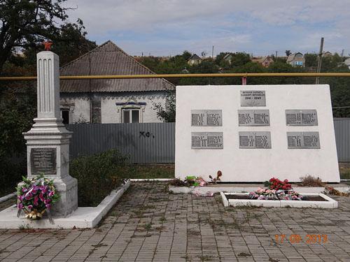 Massagraf Sovjet Soldaten Vynohradne