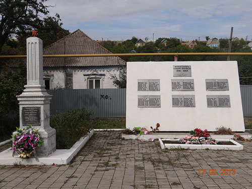Mass Grave Soviet Soldiers Vynohradne