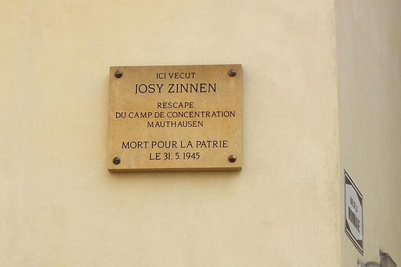 Monument Josy Zinnen