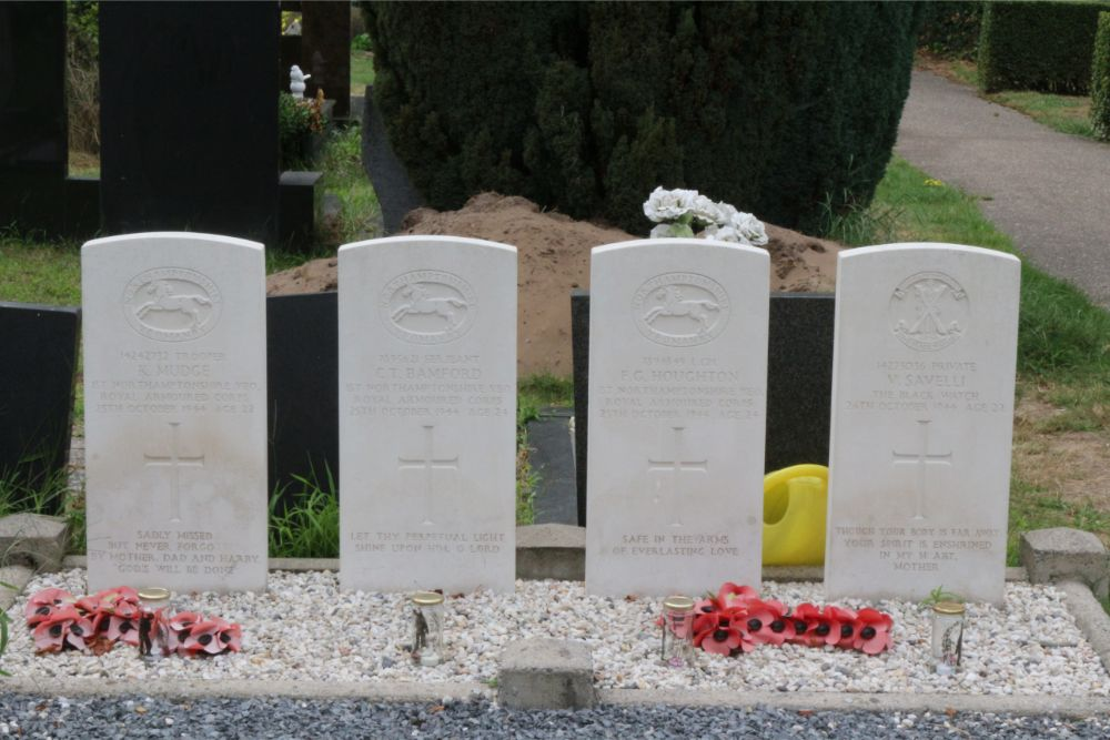 Commonwealth War Graves Municipal Cemetery Vught