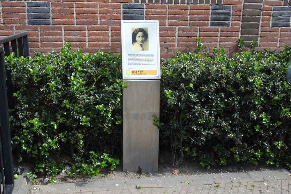 Monument Helga Deen Tilburg