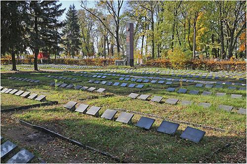 Soviet War Cemetery Novohrad-Volynskyi