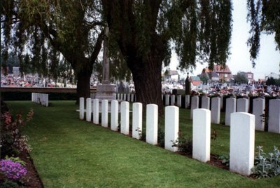 Commonwealth War Graves Beuvry