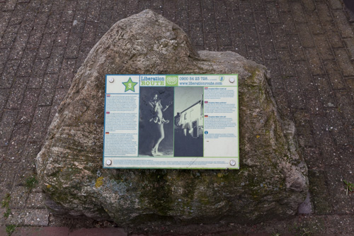 Liberation Route Marker 3