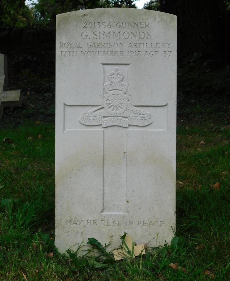 Commonwealth War Graves St. Nicholas Church Cemetery