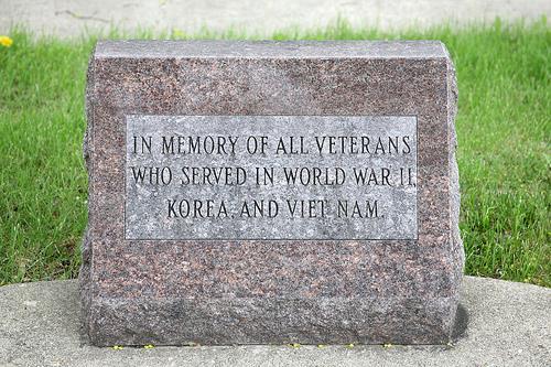 Veterans Memorial Janesville