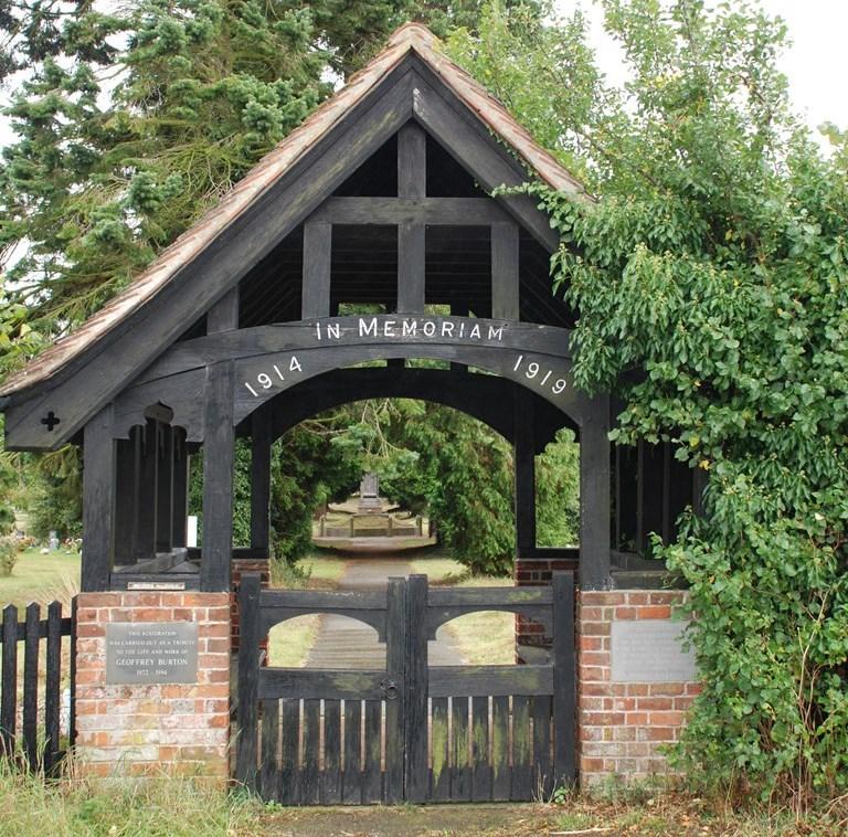 Oorlogsgraf van het Gemenebest Needham Market Church Burial Ground