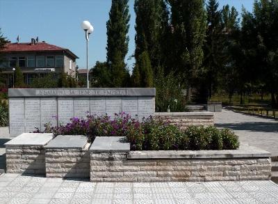 War Memorial Parvomaytsi