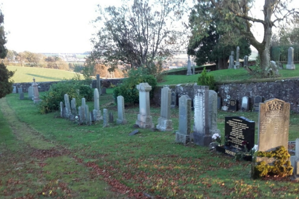 Commonwealth War Graves Glassford Old Churchyard